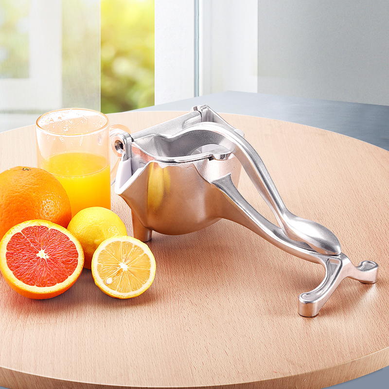 Aluminum Alloy Mini Manual Fruit Juicer Machine Long Lifetime Metal Lemon Juicer Orange Juice Kitchen Aid Fruit Pressing Machine electric orange fruit juicer machine blender extractor lemon juice