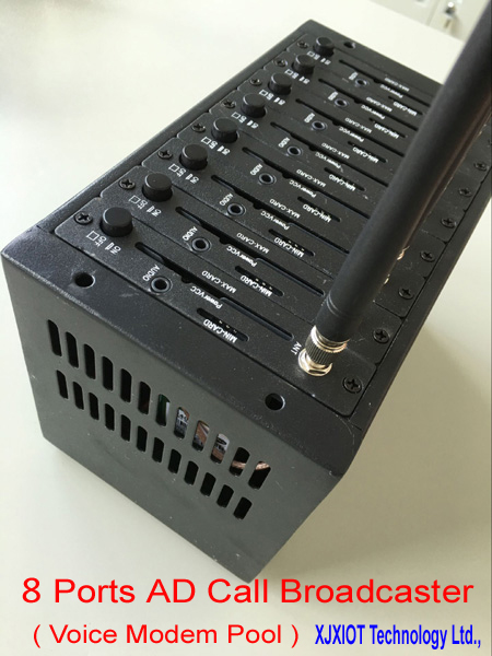 16 Ports Wavecom Modem-pool Massen-sms Gprs-modem Volumen Groß Networking