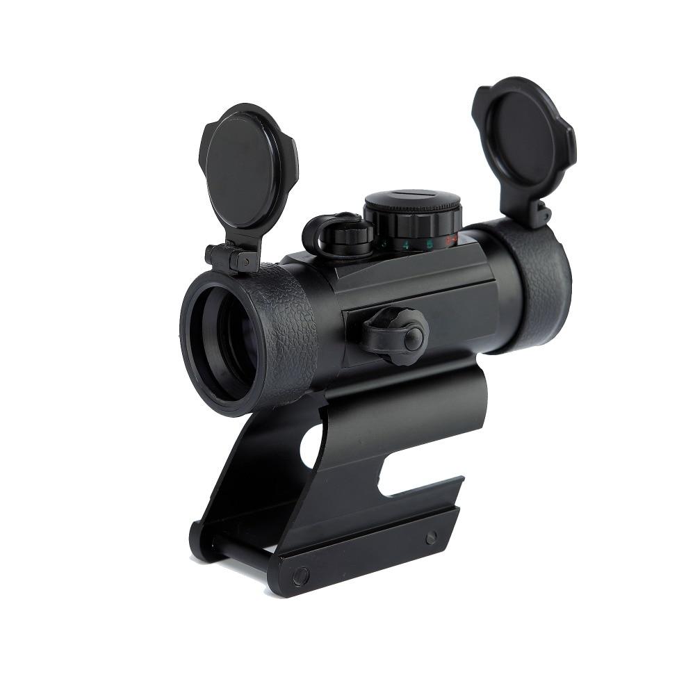 1X22 Red Green Dot Scope Sight Air Soft Rifle Optics Dot Sight Scopes Weapon Gun Riflescope with High Mount