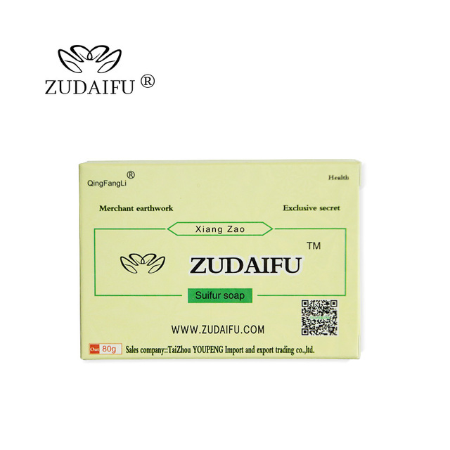 Cheapest zudaifu Sulfur Soap Skin Conditions Acne Psoriasis Seborrhea Eczema Anti Fungus Bath Healthy Soaps Eczema Zudaifu Soap 1