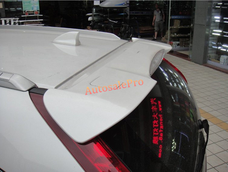 Unpaint Rear Trunk Roof Spoiler Wing Pad Lip For Honda CRV CR-V 2012 2013 2014 2015 2016 paint abs car rear wing trunk lip spoiler for 16 17 toyota vios 2014 2015 2016 2017 by ems