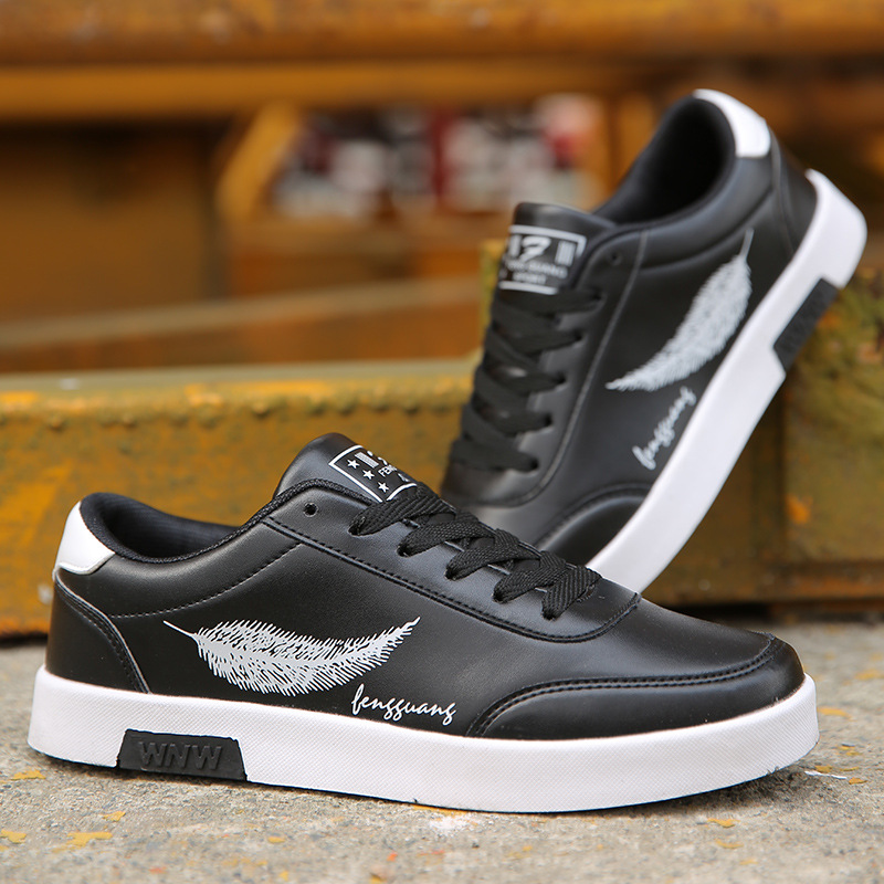 Men Casual Shoes Breathable Male Tenis Masculino feather Print Shoes Zapatos Hombre Sapatos Outdoor Flats Shoes Sneakers 2