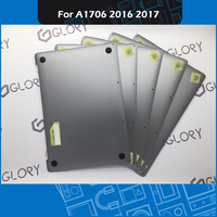 Laptop A1706 Bottom Case 613 06132 01 For Macbook Pro Retina 13 Touch Bar A1706 Lower Cover Bottom shell 2016 2017 MLH12 MPXV2