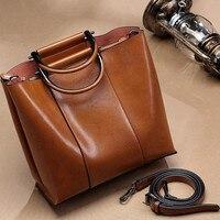 Винтажные кожаные женские сумки-мессенджеры TotesTassel дизайнерские сумки через плечо Boston ручные сумки Горячая Распродажа