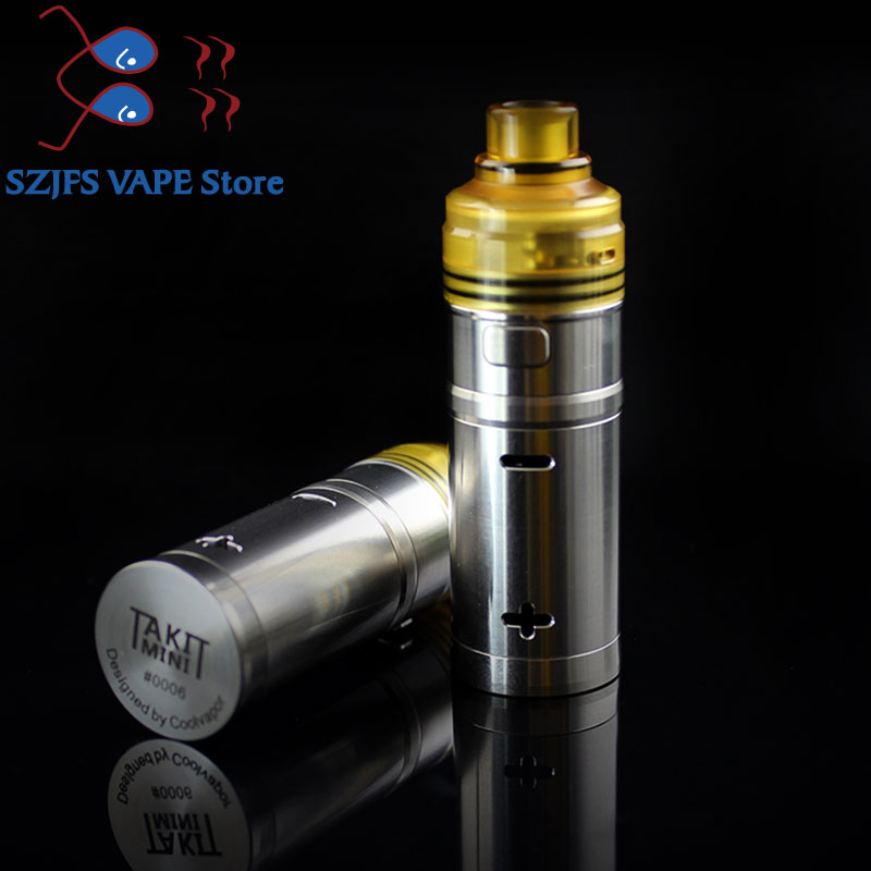 Cigarette électronique takit mini mécanique mod kit fumée pod Vaper vape mods vsvs glisser 2/Minifit/Nord/Avidlyfe/KayfunMod
