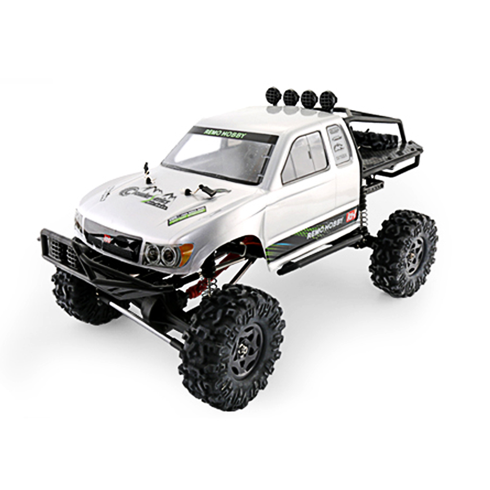 Remo Hobby 1093-ST 1/10 RC Car 2.4G 4WD Brushed Off-road Rock Crawler Trail Rigs Truck RTR Remote Control Models Toys Kid Gift