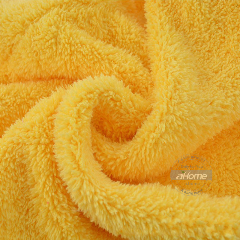 Girls Hair Drying Bath Towel Cap With Microfiber Solid For Woman
