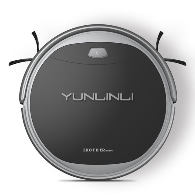 Sweeper Robot Automatic Wireless Robotic Vacuum Cleaner Smart Home Ultra-thin Wiper Mopping Machine Cleaner S608