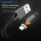 NOHON Magnetic Charging Cord Sync Data Cable 8 Pin For iPhone X 10 8 7 6 5 Plus For iPad Mini IOS 9 10 11 Lighting Charger Cable
