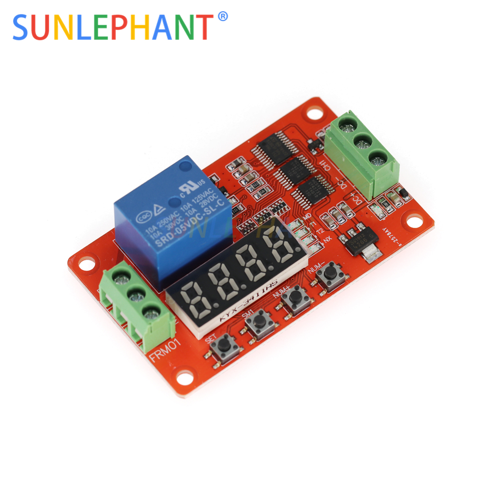 5V DC Multifunction Self-lock Relay PLC Cycle Delay Time Timer Switch Module PLC Home Automation Delay Module Board5V DC Multifunction Self-lock Relay PLC Cycle Delay Time Timer Switch Module PLC Home Automation Delay Module Board