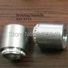 KFSE-M3-4 Broaching Standoffs Us In PCB Stainless Steel Nature PEM Standard In Stock Made In China