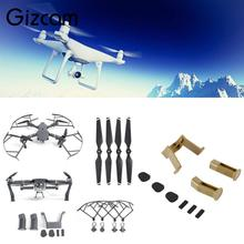 Gizcam RC Propeller Blade & Protector Guard & Landing Gear Extender For DJI Mavic Pro Camera Drones Accessories Propeller