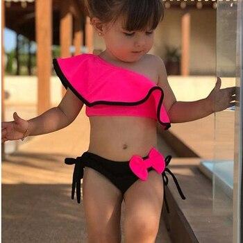 Maillots de bain bébé et enfants fille deux pièces Bikini / Costume de bain Bella Risse https://bellarissecoiffure.ch