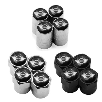 4pcs Car Wheel Tire Valves Tyre Air Caps case for BMW Mini Cooper 2011 2012 2013 car accessories Motorcycle Automobiles