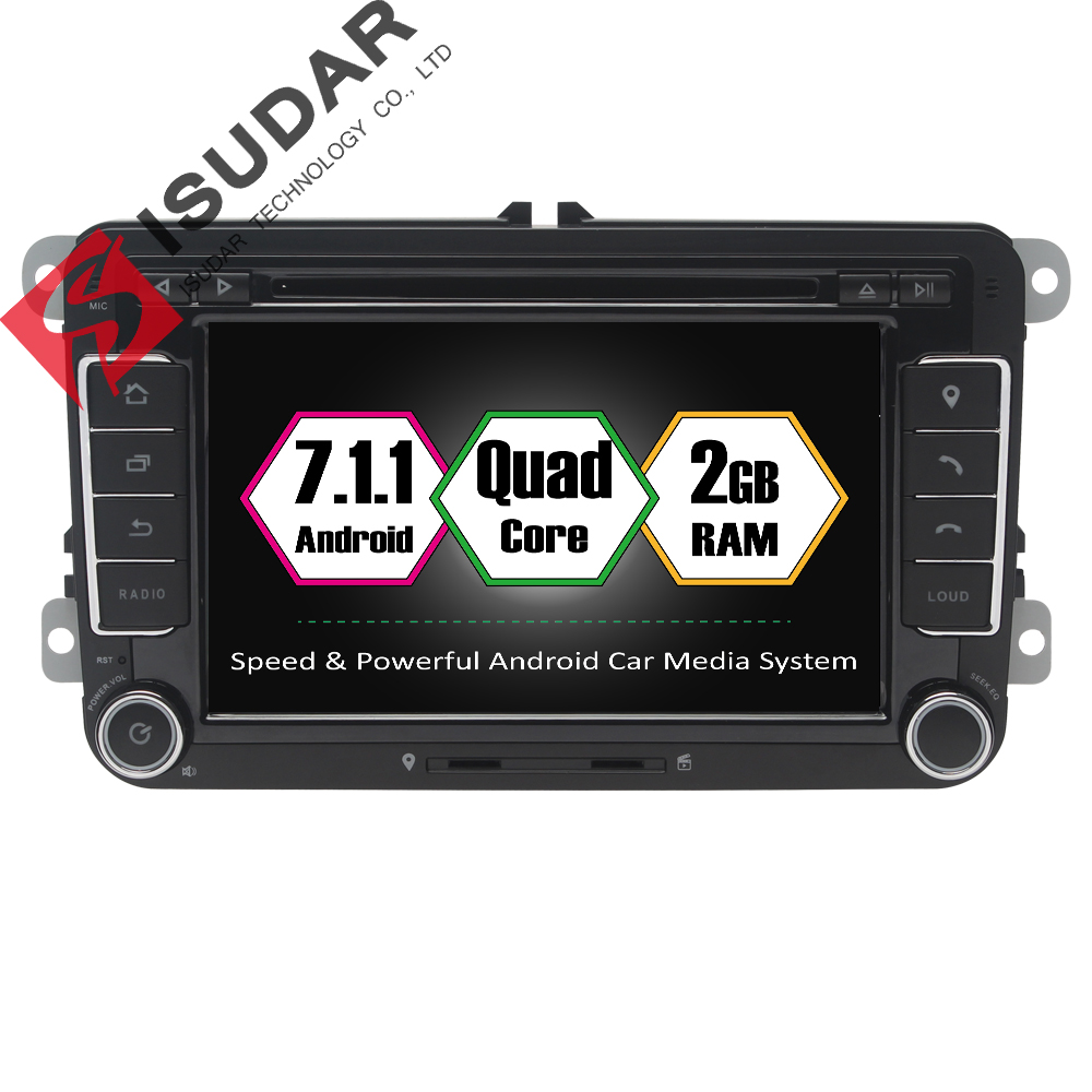 Wholesales Android 7 1 1 7 Inch font b Car b font DVD Player For VW