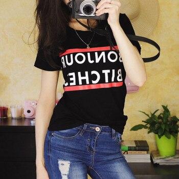 CDJLFH Women Clothing blusas 2017 Summer blouse Fashion Short Sleeve shirt Rock-shirt Camisetas y plus size tops blusa feminina 3