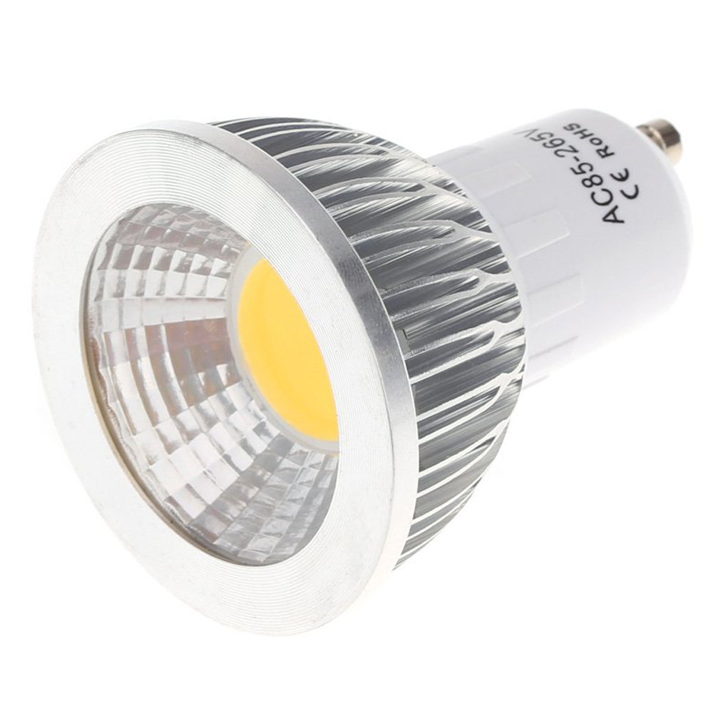 GU10 5W COB LED Headlights Bulb Light Energy Saving High Performance Bulb Lamp 85 - 265V Warm White
