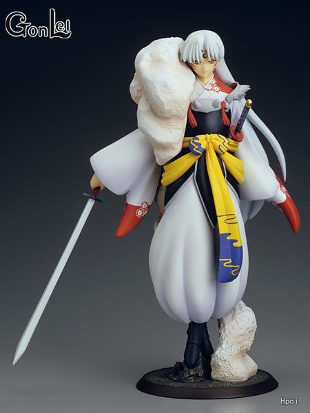 Inuyasha Sesshoumaru Action Figure 1/8 scale painted figure First Ver. Sesshoumaru PVC figure Toy Brinquedos Anime shining blade sakuya action figure 1 7 scale painted figure swimsuit ver sakuya pvc figure toy anime