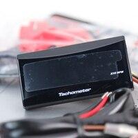 للسباقات و سكوتر العالمي نارية حثي مقياس سرعة الدوران العتاد عرض led الرقمية الالكترونية للماء