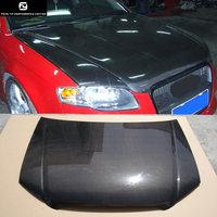 A4 B7 углеродного волокна Прокат крышка капота отверстия для Audi A4 B7 переднего бампера 2006