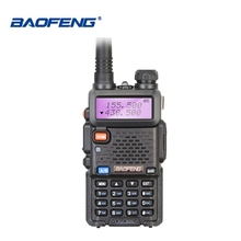 купить Baofeng UV-5R Walkie Talkie Ship from Moscow Dual Band VHF UHF Two Way Radio UV 5R Ham Transceiver CB Radio UV5R Hunting Radio дешево