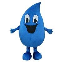 חמה למכירה טיפת מים הכחולה למבוגרים קמע התחפושת תלבושות קריקטורה משלוח חינם