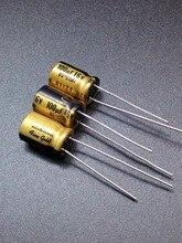 30 ШТ. Nichicon FG 100 мкФ/16 В подлинное место 100 мкФ 16 В аудио, ввозимые для конденсатор бесплатно доставка