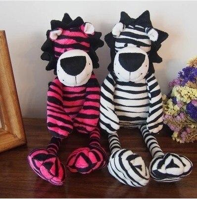 2019 nouvelle mode zèbre dichromatique lion cadeau d'anniversaire en peluche poupées