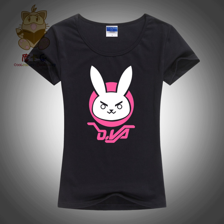 Shirts Shirt High Girl's 2017 Quality Ow Tee Lovely Girl Fans Game T TwxqYAE