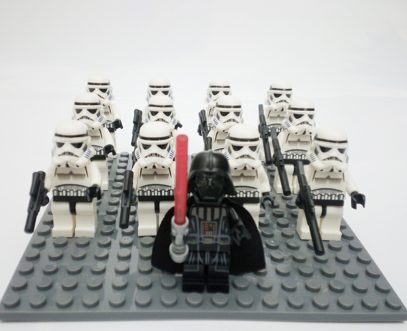 13pcs/lot Star Wars Rebels Imperial Clone Storm Trooper Clone ...