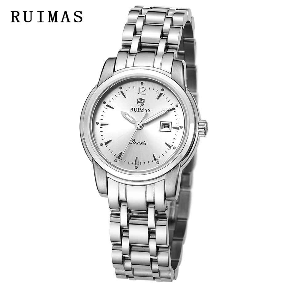 RUIMAS Luxury Brand Women Bracelet Watches Fashion Ladies Dress Wristwatch Ladies High Quality Quartz Rose Gold Watch apr1307 2016 women diamond watches steel band vintage bracelet watch high quality ladies quartz watch