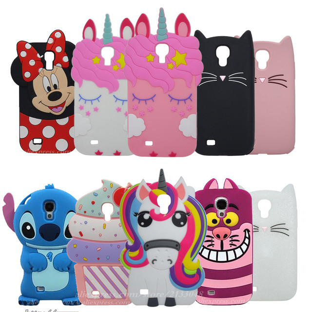US $2 42 15% OFF|Phone Case for Samsung Galaxy S4 case i9500 3D cartoon  Cover Brand New Coque Soft Silicone CASE for galaxy s4 i9505-in  Half-wrapped