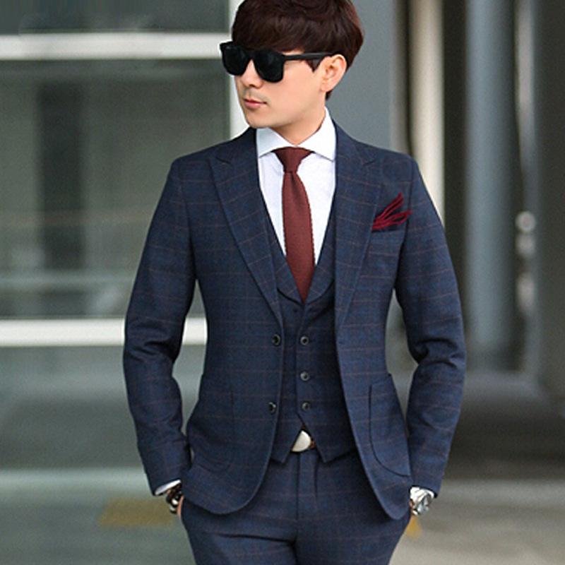 Online Shop 2015 Moldbaby High quality Trendy Suits For Men two ...