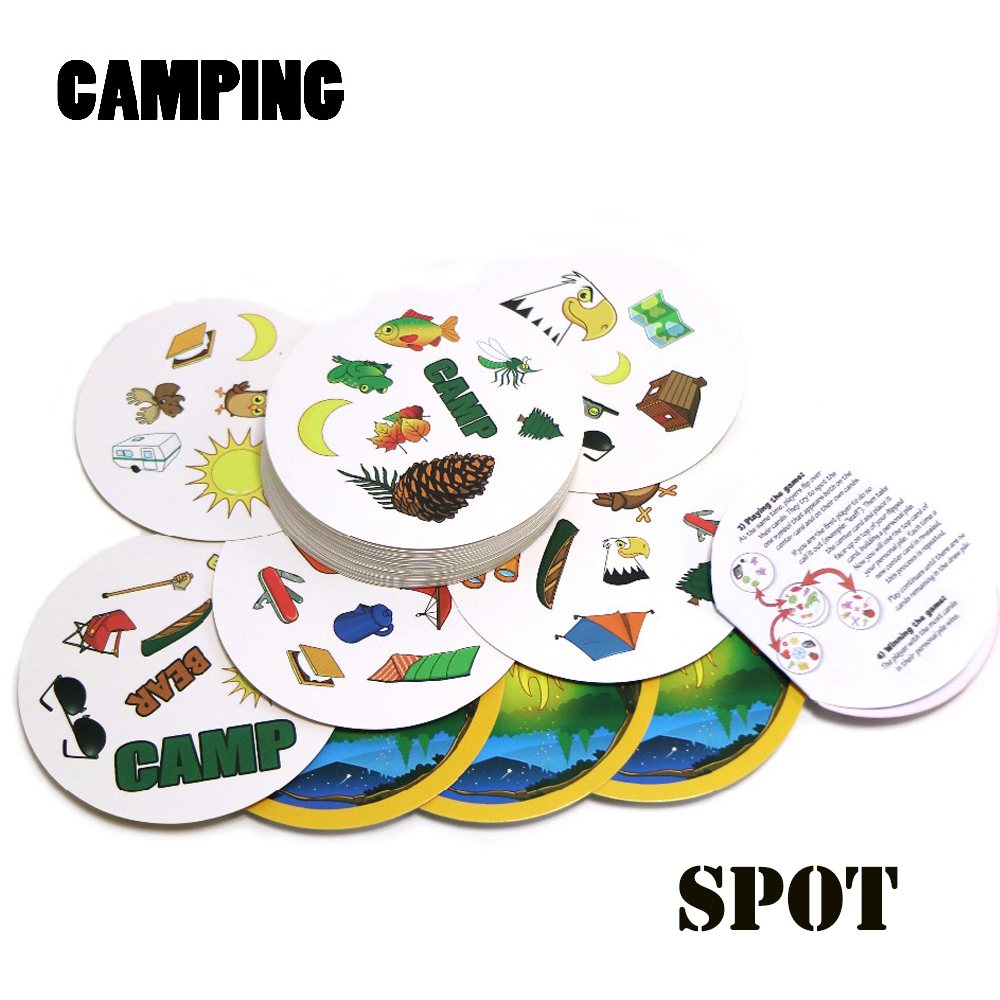 2018 Spot Camping Find Double English Version Kids Like It Gifts For Family Home Party Card Game, Board Game