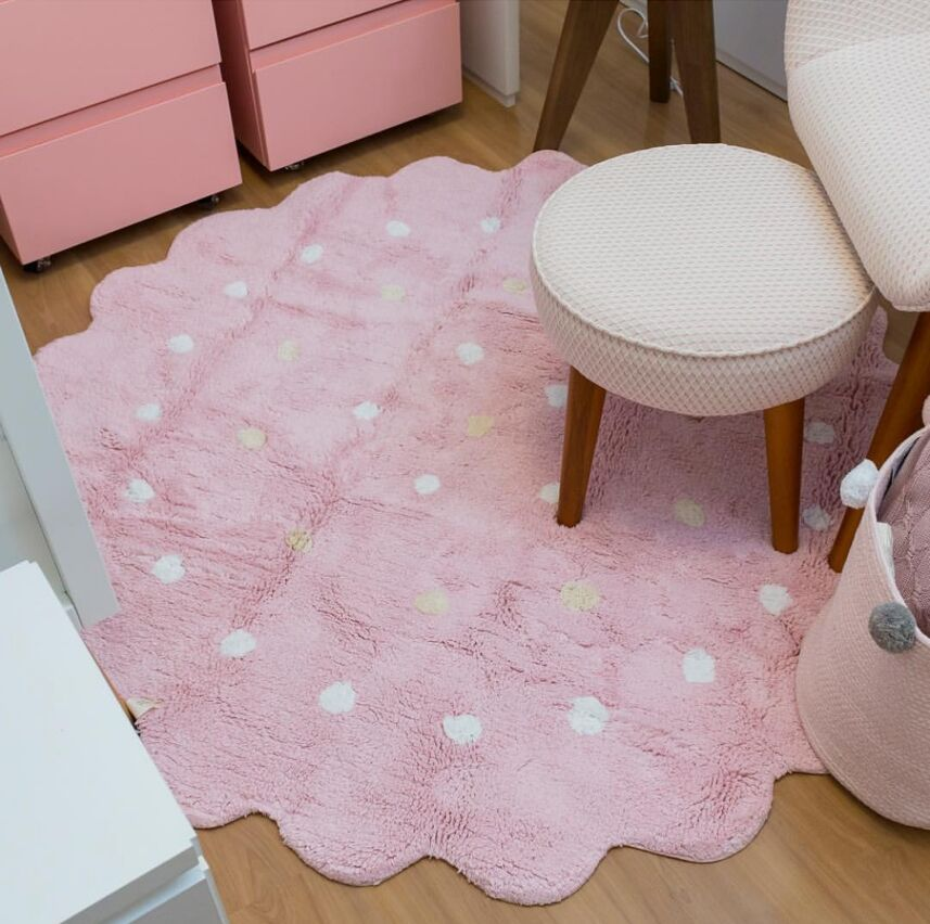 Cloud Shaped Play Mat Round Carpet Rugs