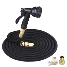 Magic Retractable Garden Hose Flexible High Pressure Car Plastic Watering Sprinkler for Irrigation