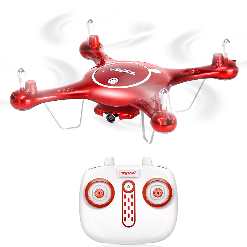 SYMA X5UW RC Drone WiFi FPV 720P HD Camera 2.4G 4CH Quadrocopter Real-Time Video Helicopter mini drone rc helicopter quadrocopter headless model drons remote control toys for kids dron copter vs jjrc h36 rc drone hobbies