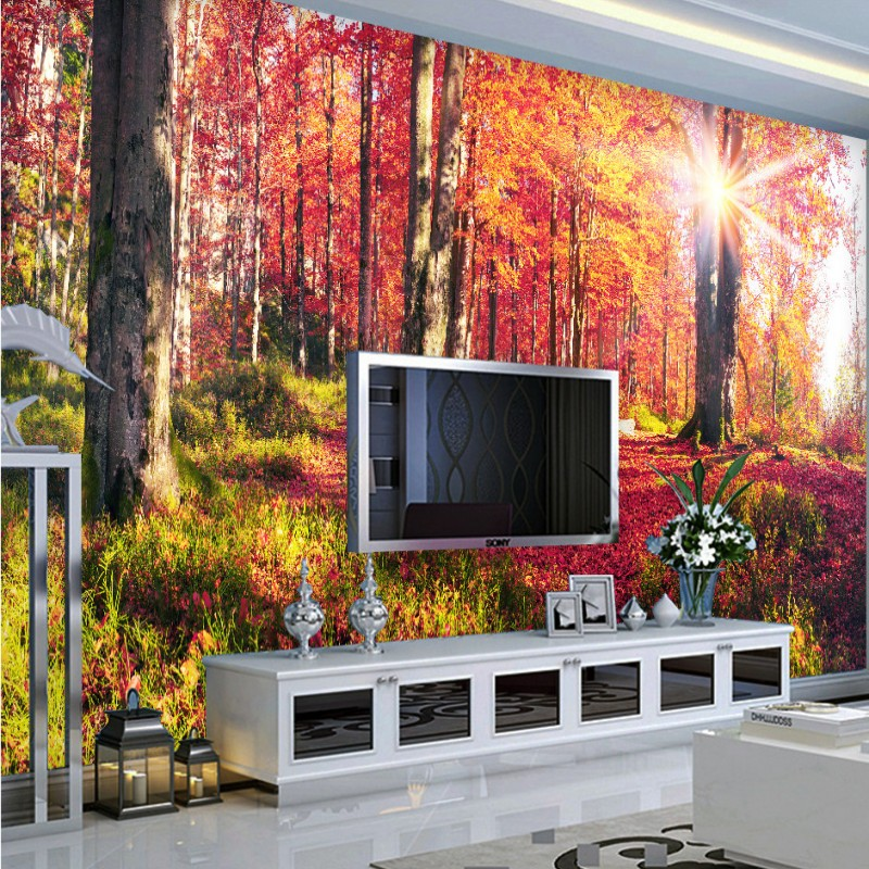 Custom photo wallpaper Natural scenery beautiful Mangrove mural bedroom TV decoration custom high quality wallpaper custom photo wallpaper natural scenery mangrove landscape custom wallpaper business hotel home decoration backdrop murals