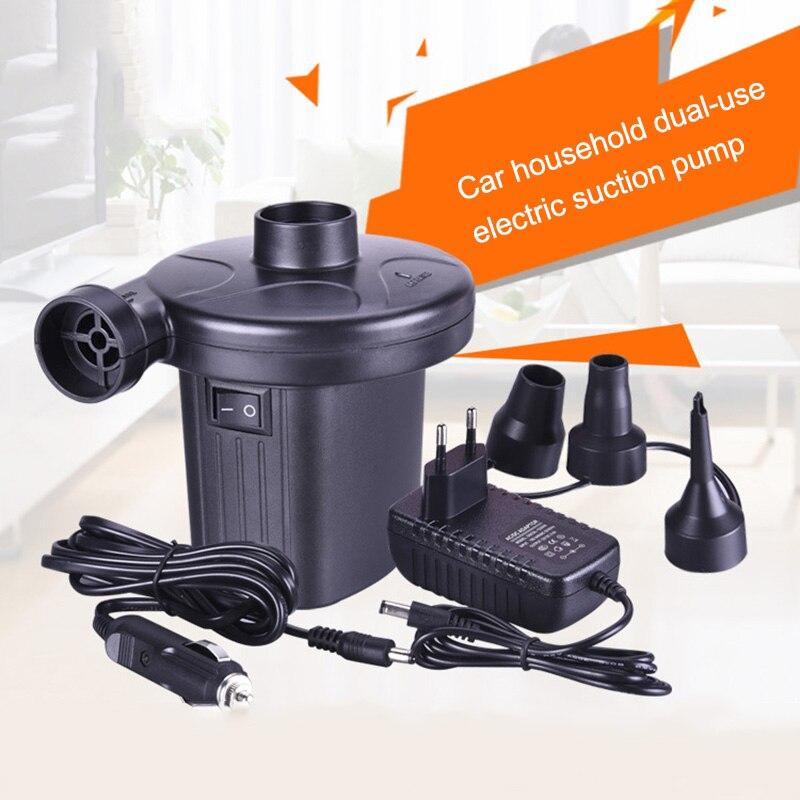 1 satz Tragbare Elektrische Luftpumpe für Schwimmen Ring Schlauchboote Luft Matratze Floß Bett Boot Spielzeug -- M25