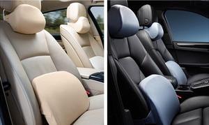 Image 5 - Roidmi araba kafalık yastık minder 60D duygusu bellek pamuk yıkanabilir lomber ofis ve araba hızlı kargo