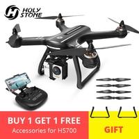 AB ABD Kutsal Taş HS700 GPS özçekim dronu Kamera ile HD FPV 1000 m Uçuş Aralığı 2800 mAh 5 GHz fırçasız motor RC Helikopter