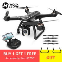 EU USA Holy Stone HS700 GPS Selfie Drone with Camera HD FPV 1000m Flight Range 2800mAh 5GHz Brushless Motor RC Helicopter