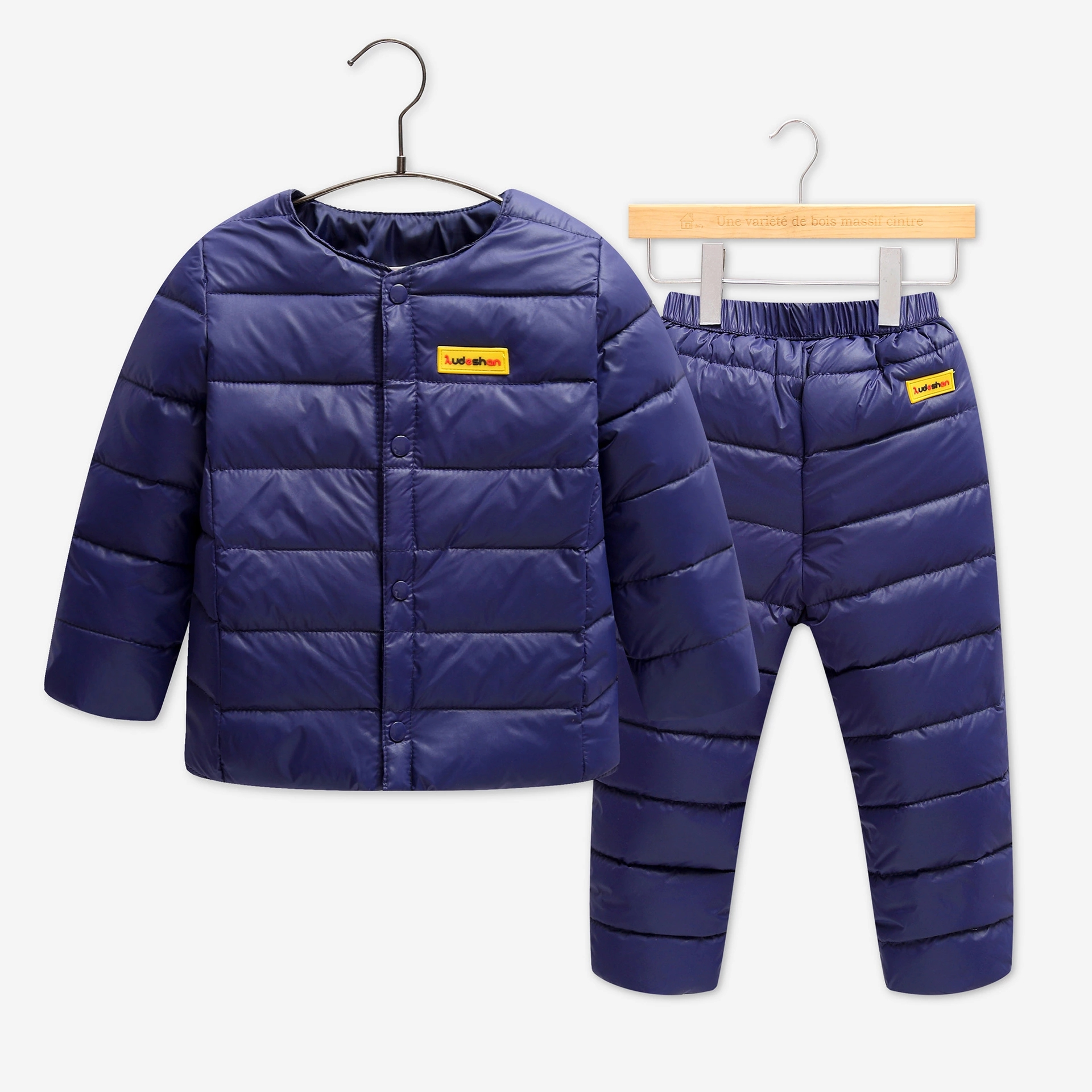 1-6 years Children Set Boys Girls Clothing Sets Winter Coat Down Jacket+Trousers Waterproof Snow Warm kids Clothes suit 2016 winter boys ski suit set children s snowsuit for baby girl snow overalls ntural fur down jackets trousers clothing sets