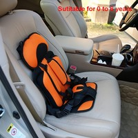 Kids Car Protection 0 6 Years Old Baby Car Seat Portable And Comfortable Infant Safety Seat