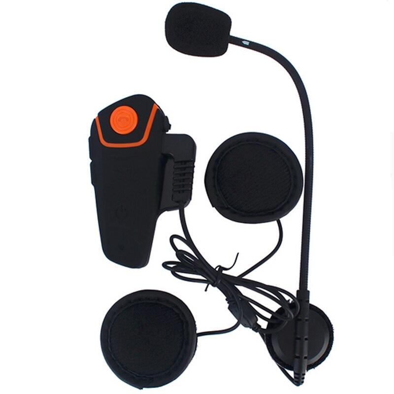 New!!1000M FM Motorcycle Intercom A2DP BT Bluetooth Wireless Waterproof Interphone Helmet Headset Earphone BT-s2