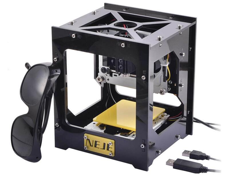 USB DIY Laser Engraver Laser Printer Wood Engraving machine Paper Card Cutter 300mw 38*38mm multifunction unich professional 900 600mm laser wood engraving machine