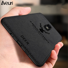 For Oneplus 7 Pro Phone Case 6 6T Coque Business Silicone TPU Leather Cloth Back Cover 5 5T 1+ 7Pro