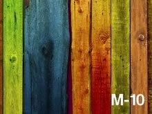New Style Hot Sale 5x7ft Photo Studio Background Backdrop Colorful Wood Photographic Vinyl Photo Backdrops Digital Art Cloth
