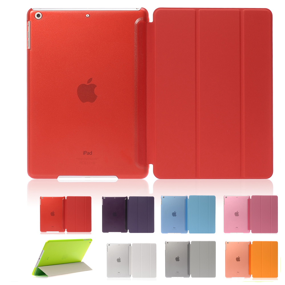 Ultra Slim PU Leather Magnetic Stand Smart Case Cover For Apple iPad Mini 1 2 3 Crystal Hard PC Tablet Cover For Ipad Mini 1 2 3 eu stock ultra slim magnetic smart flip stand pu leather cover case for apple ipad mini 1 2 3 retina intellectual dormancy