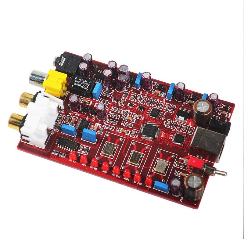 NEW K.GUSS X9 PCM5102 TDA1308 XMOS USB DAC Amplifier AMP decoder board RCA headphone output 32bit / 384K